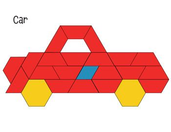 pattern block templates pinterest pattern block mat car math printables pinterest