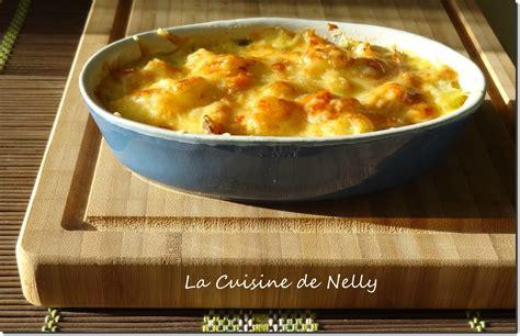 cuisine de babette recettes gratin de chouchous au haddock la cuisine de nelly