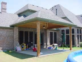 covered patio design plans landscaping gardening ideas