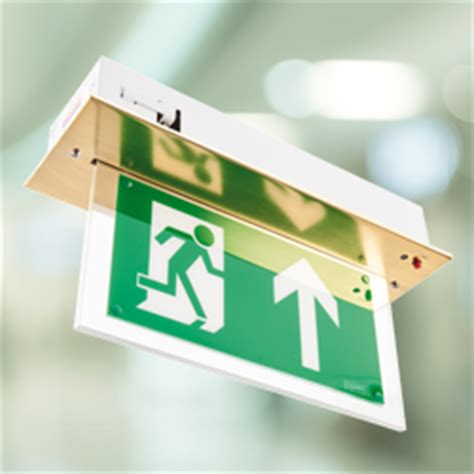 Hanelle Exit led exit sign vale emergency lighting