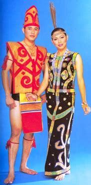 Nama Baju Perempuan Iban sabah pakaian tradisional kaum kaum di malaysia