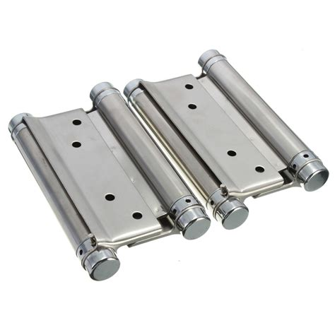 double swing hinge 2pc 3 4 quot 5 double action spring hinge cafe saloon door