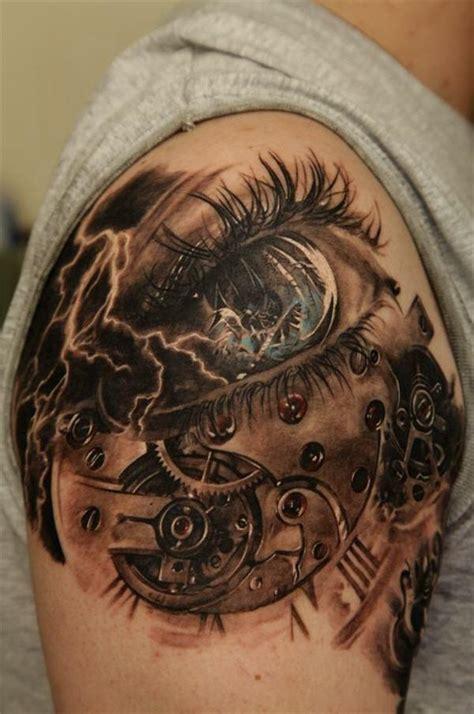 tattoo eye with clock pin steunk skull free wallpaper appbrain android market