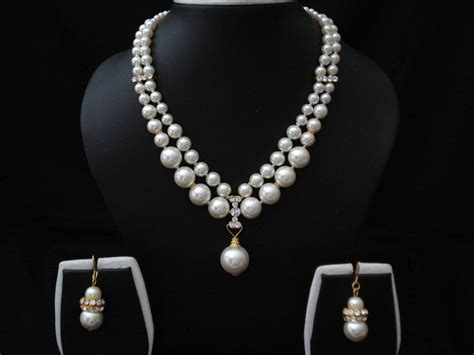 jewelry with white pearl jewelry colorful jewelry and fashion