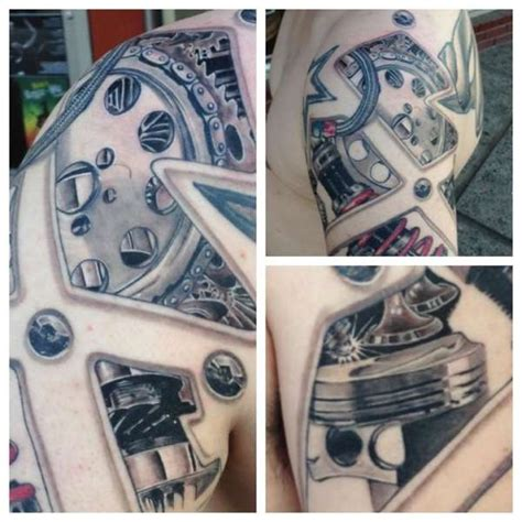 car part tattoos automotive engine tattoos www pixshark images