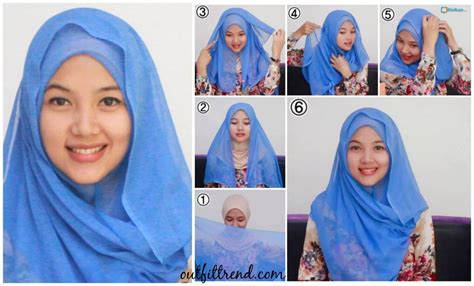 tutorial hijab arab simple 10 simple hijab paris tutorials you can do less than minute