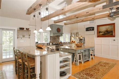 54 beautiful small kitchens design kitchens beams and stove 47 beautiful country kitchen designs pictures