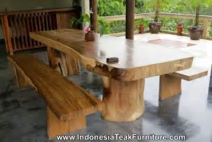Wooden Bench And Table Set Large Dining Table Natural Wood Dining Table Bench Dining