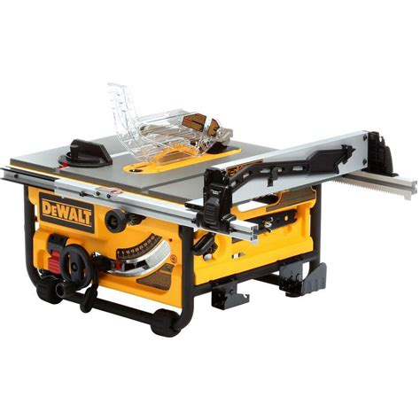dewalt 10 table saw dewalt 10 inch compact site table saw with site pro