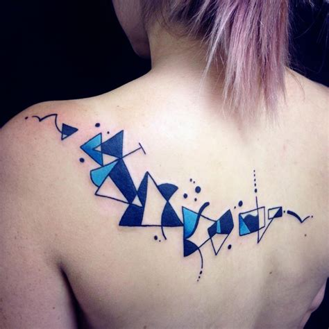 abstract design tattoos abstract back best design ideas