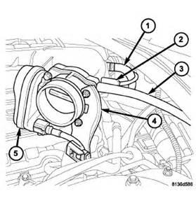 2006 Chrysler 300 Throttle Dodge Journey Egr Valve Location Get Free Image About