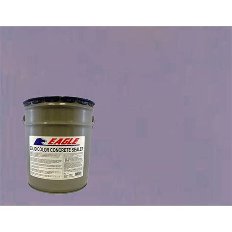 eagle 5 gal twilight solid color solvent based concrete