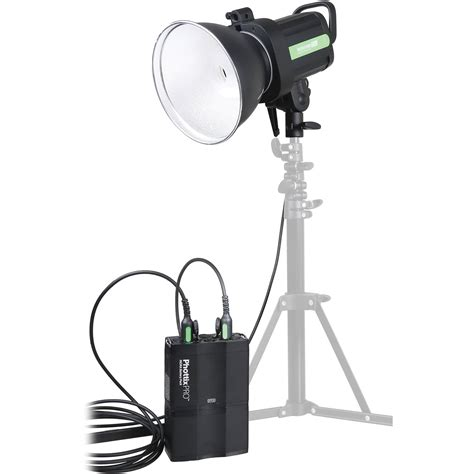 battery powered photography lighting phottix indra500 ttl battery powered studio light ph00307 b h