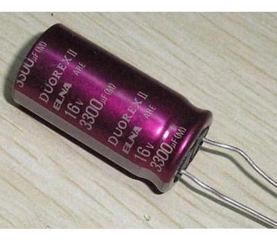 Capacitor Elco Nippon Chemicon 3300uf 16v elna duorex electrolytic capacitor 3300uf 16v 4pcs elna capacitor analog metric diy audio