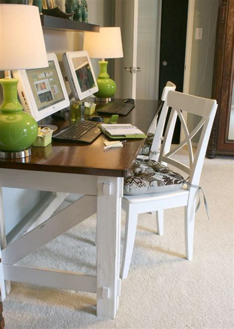 Farm Desk by Work In Coziness 20 Farmhouse Home Office D 233 Cor Ideas