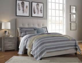 cream bedroom set contemporary cream upholstered panel bedroom set from