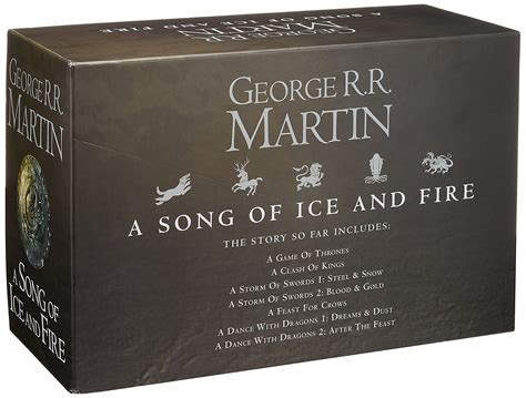 0007477155 a song of ice and game of thrones book box set 7 volume song of ice fire