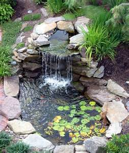 Backyard Pond Ideas Landscaping And Outdoor Building Relaxing Waterfalls Backyard Ponds Waterfalls Backyard