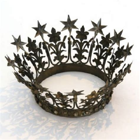 crown decor metal crown eclectic home decor by rian rae
