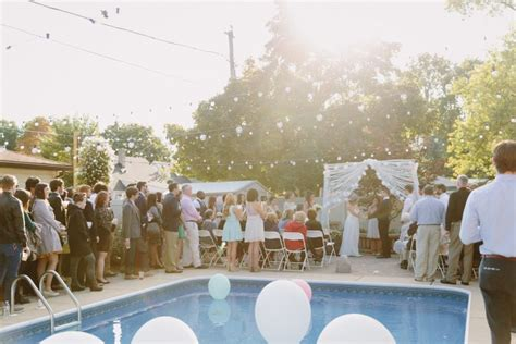 13 times backyard weddings proved staying at home is