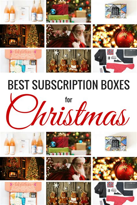 best christmas subscriptions 25 best subscription boxes for and the holidays 2018