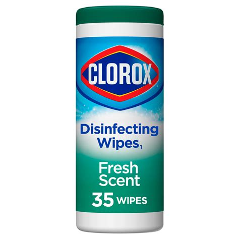 clorox disinfecting wipes bleach  cleaning wipes fresh scent  ct walmartcom
