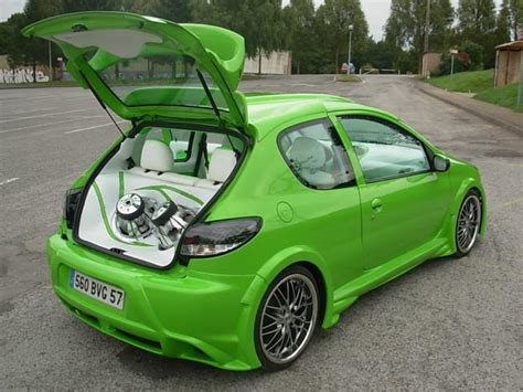 peugeot 206 tuning peugeot images peugeot 206 tuning wallpaper and background