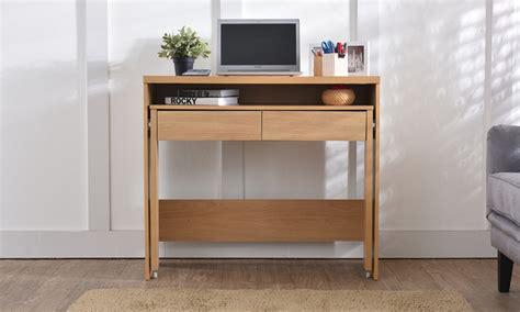 scrivania allungabile console con scrivania allungabile groupon goods