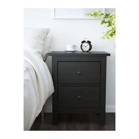 ikea black hemnes drawers hemnes chest of 2 drawers black brown 54x66 cm ikea