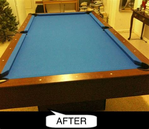 how much to replace felt on pool table how to refelt a pool table cabinets matttroy