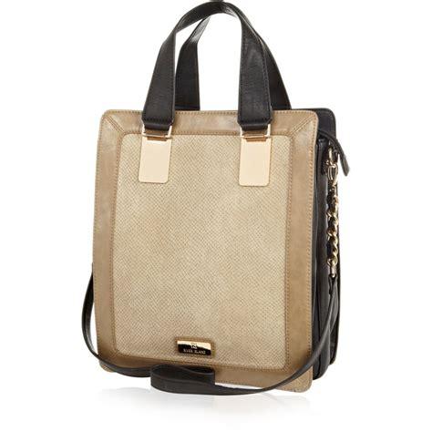 Panel Tote Bag beige snakeskin panel tote bag bags purses sale