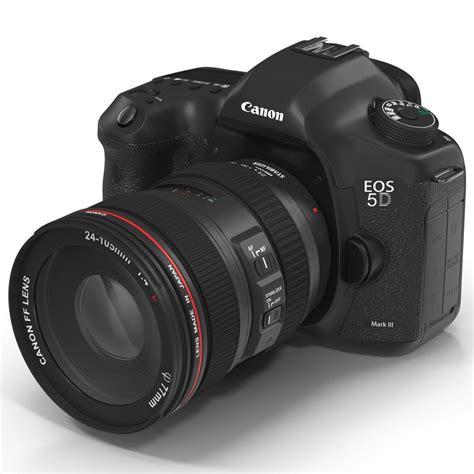 canon 3d digital canon eos 3d model