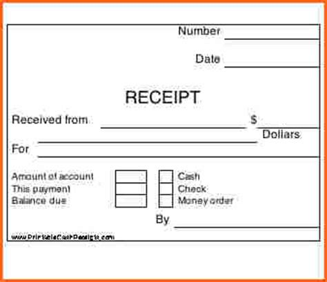 receipt for receipt printer template 7 how to print receipts budget template letter