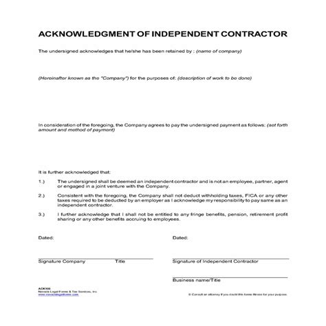 independent contractor agreement template word word doc independent contractor agreement template