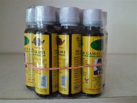 Minyak Gamat Asli Langkawi 1 produk gamat wsb030
