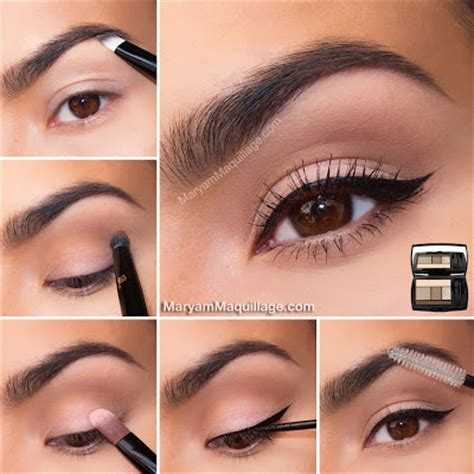 tutorial make up mata untuk sehari hari 30 tutorial make up mata natural coklat sehari hari eye