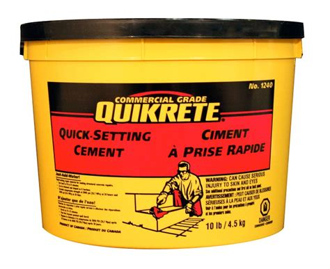 quikrete setting cement 4 5kg the home depot canada