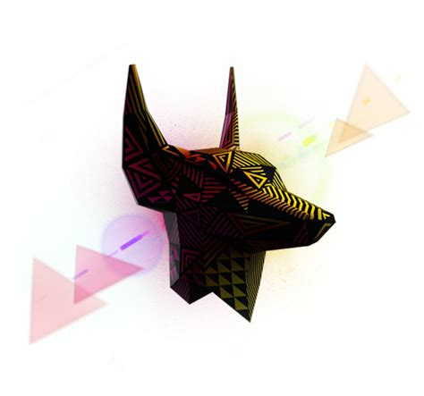printable anubis mask nile new year masks on behance