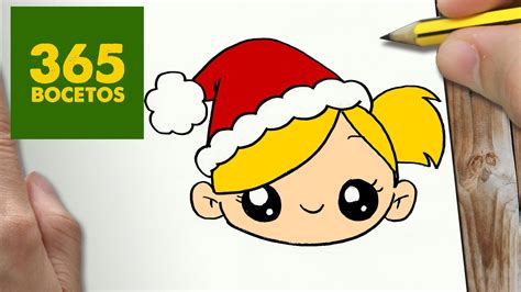 Squishy Monas como dibujar ni 209 a para navidad paso a paso dibujos kawaii