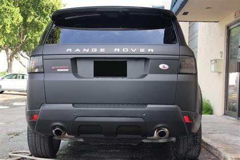 matte blue range rover range rover sport matte deep black wrap
