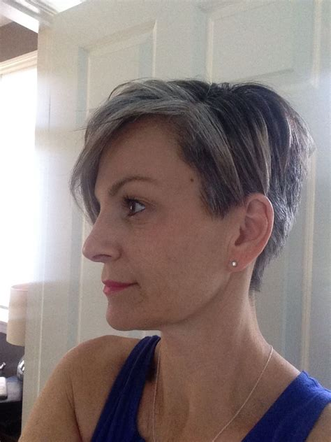pixie transition to gray 3 1 2 months into my grow out i had no idea that i have a