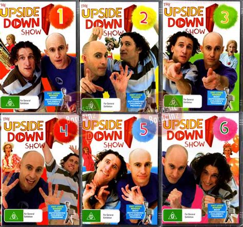 downward show the show 1 2 3 4 5 6 umbilical brothers dvd ebay