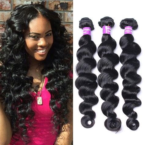pics of loose wave hair sunnyqueen remy hair products peruvian virgin loose wave