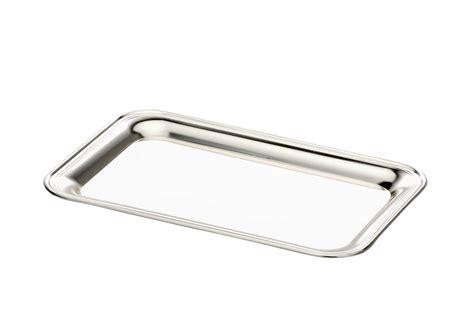 Silber Glatt Polieren by Tablett Rechteckig Glatt Poliert Versilbert
