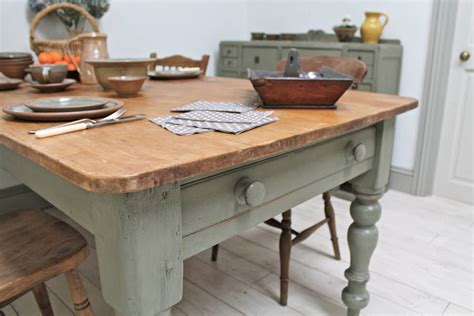large kitchen table large distressed pine country kitchen table by distressed