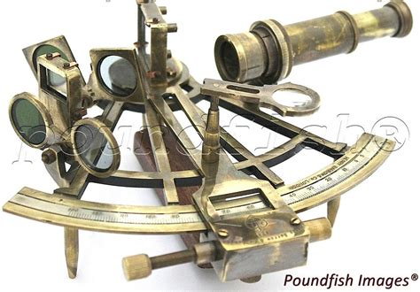 sextant l marine captain sextant brass nautical sextant 8 ebay