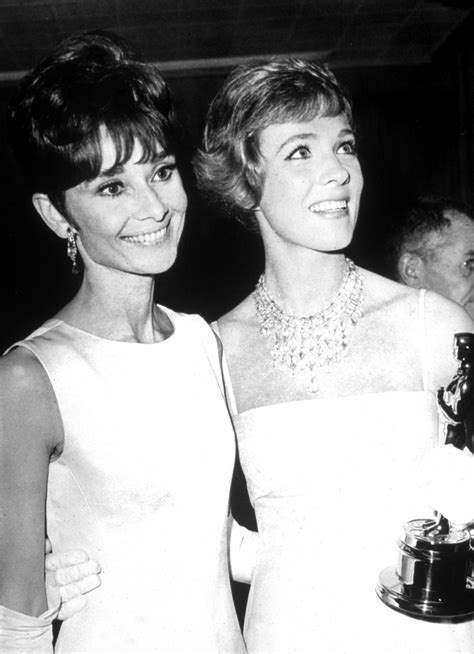 Julie and Audrey Hepburn   Julie Andrews Photo (5201605