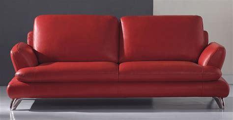 modern european sofa european contemporary style leather red dawn sofa prime
