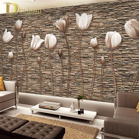 wallpaper for wall decor price large 3d wall murals photo wallpaper flower for living