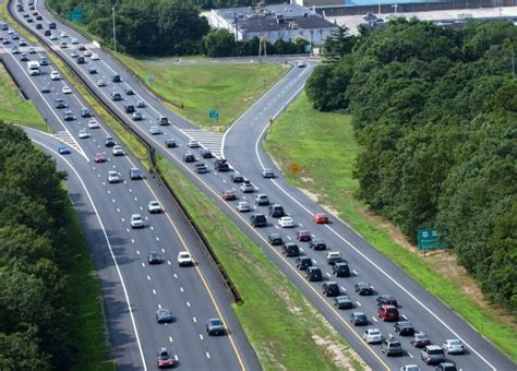 Traffic On Garden State Parkway South by Proposed Improvements At Garden State Parkway Exits 36 37